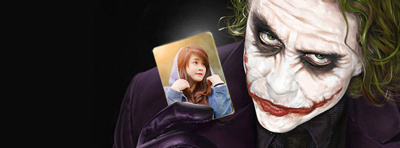 Tạo cover the Joker